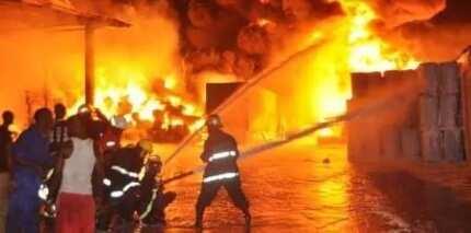 Fire guts EC office in Ashanti region