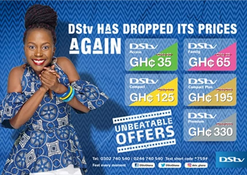DSTV Ghana Packages and Prices in 2019 ▷ YEN COM GH