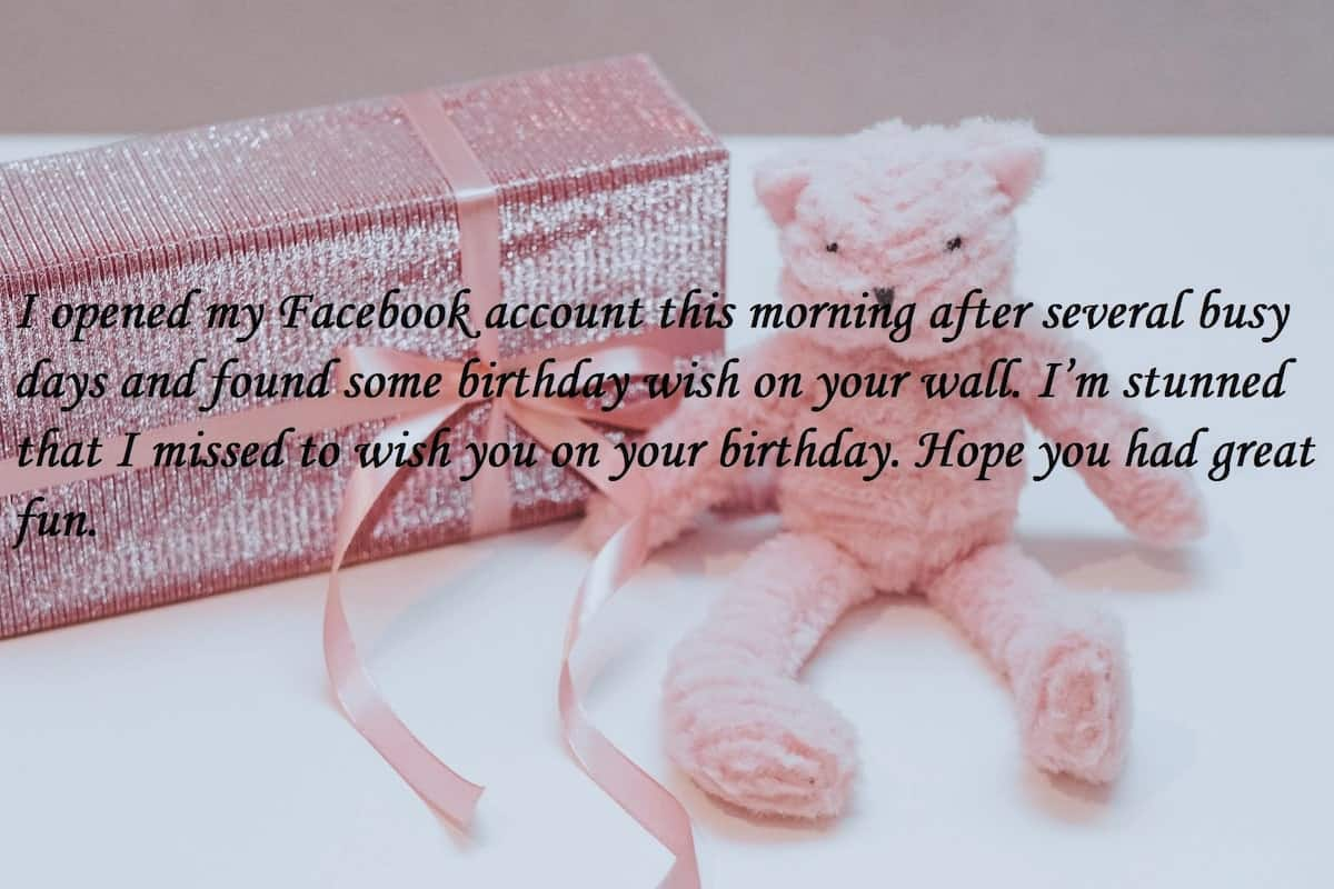 sorry i missed your birthday funny, inspirational birthday messages, funny response to belated birthday wishes