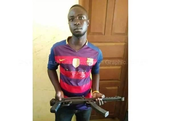 Police arrest 24-year-old for attempting to sell AK47 riffle