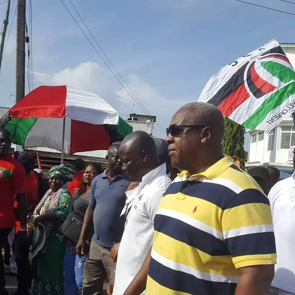 Photos of John Mahama and all the NDC bigshots who took part in the Unity Walk