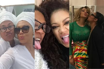 Nadia Buari has the best mother in the world and these 8 pictures of them together prove why