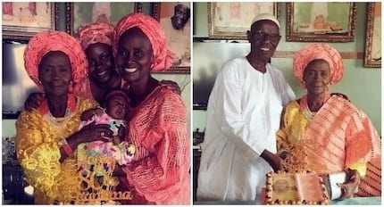 Black don't crack! Grandma celebrates 80th birthday with daughter, granddaughter and great-granddaughter (photos)