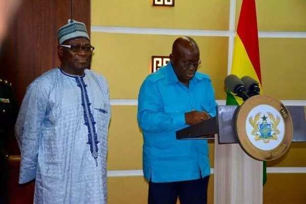 Suspended Upper West Regional Minister reinstated