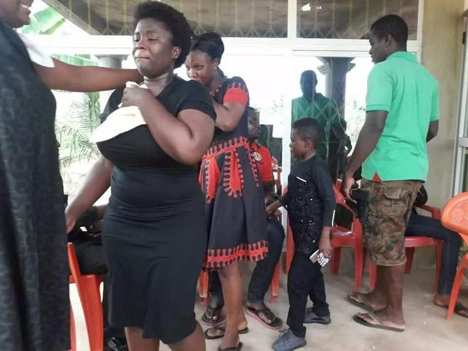 Emelia Brobbey mourns with Maame Serwaa over the loss of 'their great mother'