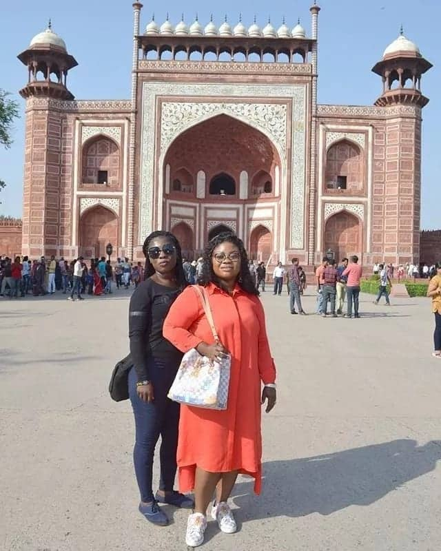 Photos from Obofour's wife's vacation in India pop up