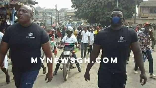 NDC outdoors new vigilante group to counter NPP's forces?