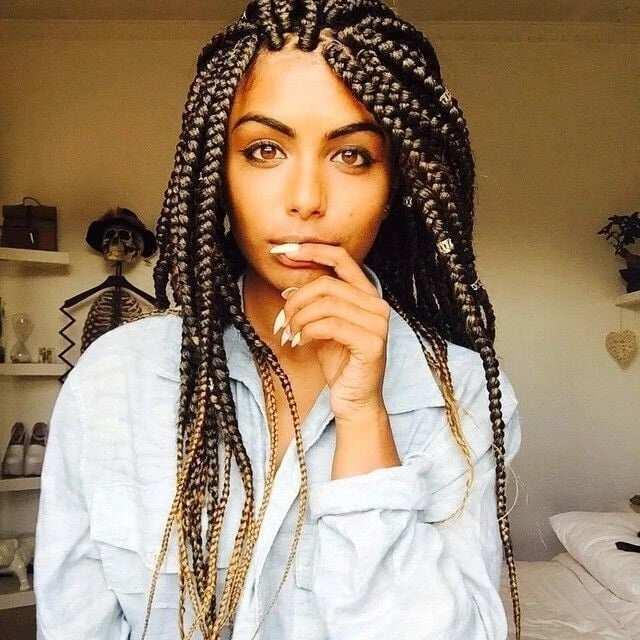 nigerian box braids hairstyles, Nigerian braids hairstyles, nigerian braids hairstyles 2018