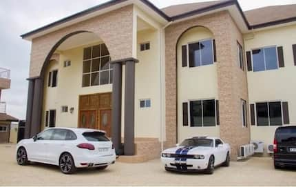 Asamoah Gyan's mansion in Accra to be demolished