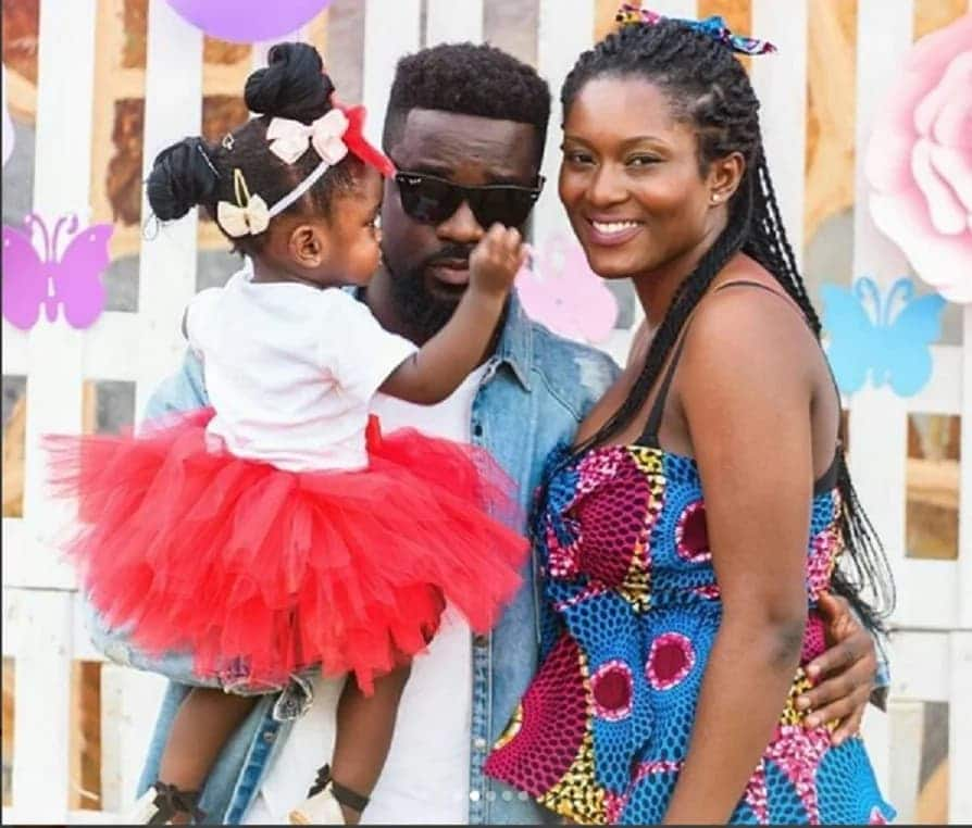 7 of Ghana's celebrities who readily flaunt their families