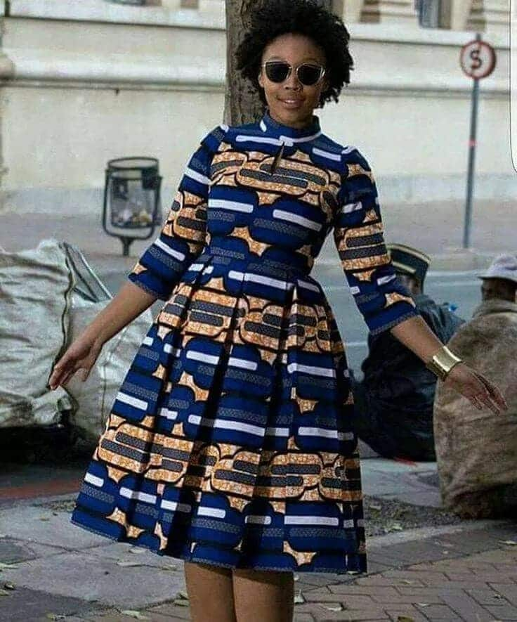 African print styles for funeral