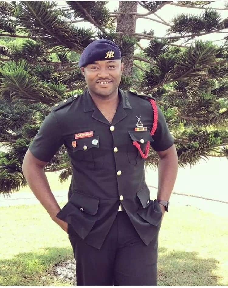 Ghanaian soldier dies one to his wedding