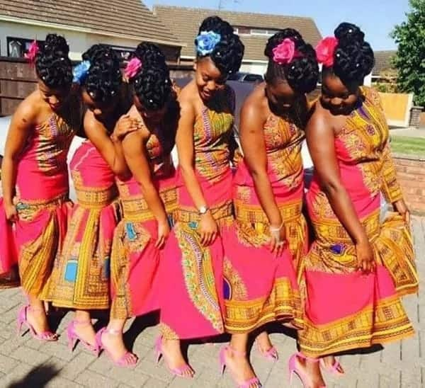 african dresses for bridesmaids, african bridesmaid dresses