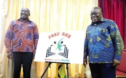 Bawumia jabs opposition over claims that Free SHS was impossible and it is serious (Photo)