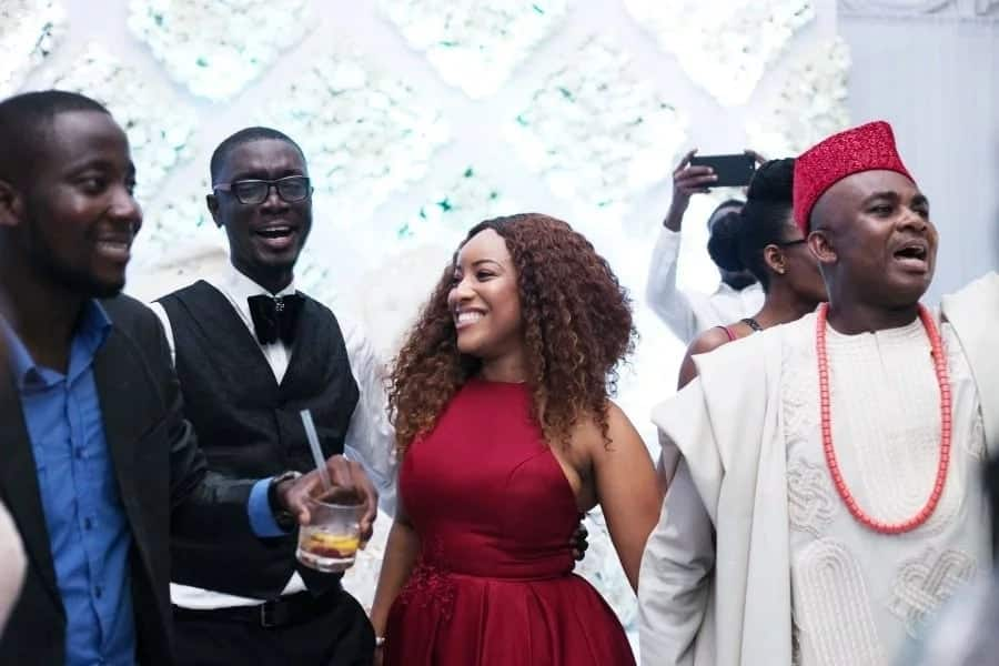 Beautiful! Here are all the official photos from Ameyaw Debrah's wedding