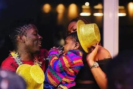 Shatta Michy and I love you - Shatta Wale causes stir with birthdy message to his son Majesty