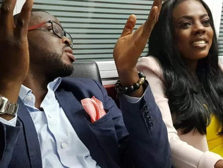 Nana Aba and Kojo Yankson in a relationship?
