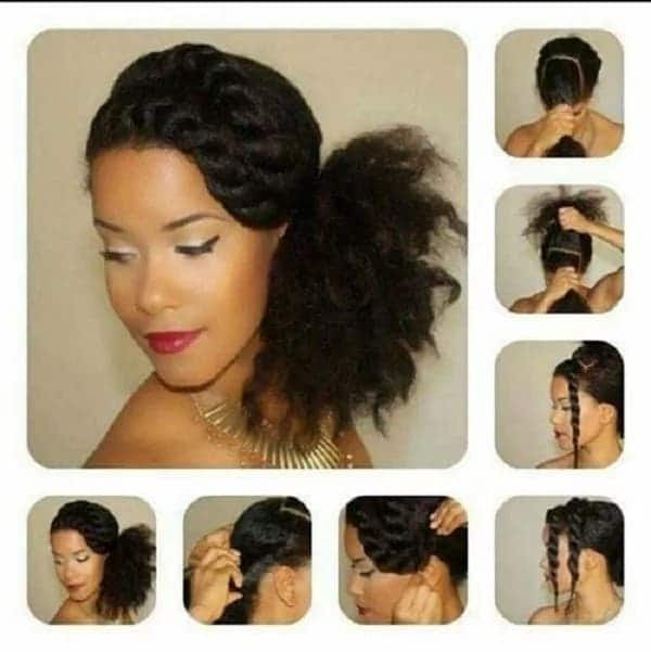styles for natural hair stunning