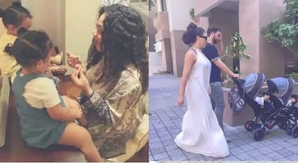 Photos: Nadia has finally revealed the father of her twins and YEN.com.gh has the juicy details