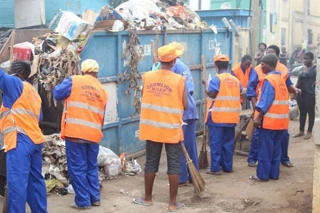 Zoomlion staff receive 'insulting' salary for eight months as rest of money 'locked' up with Menzgold
