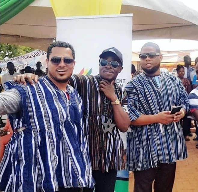 Van Vicker, Fuse ODG, D-Black celebrate their appointment as tourism ambassadors