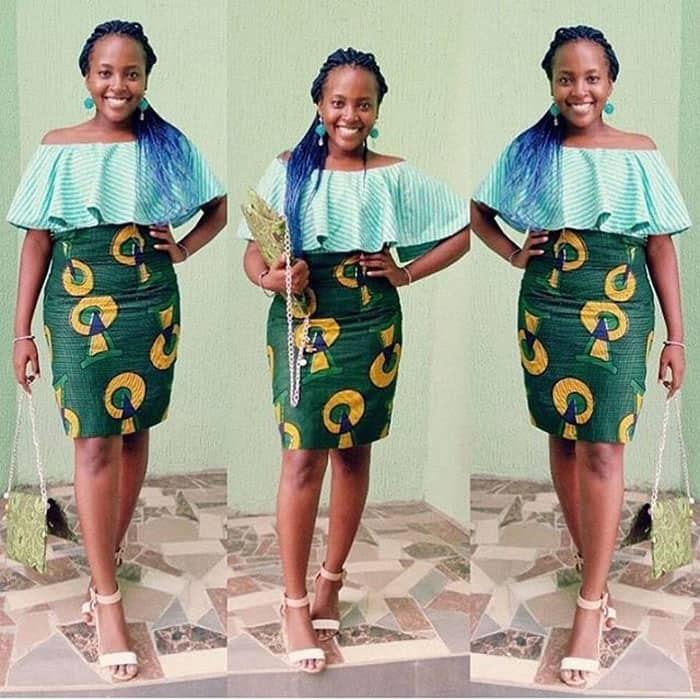 short african skirts long african skirts white african print skirt blue african skirt