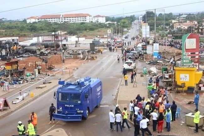 Photos of how the Atomic Junction gas explosion site looks now
