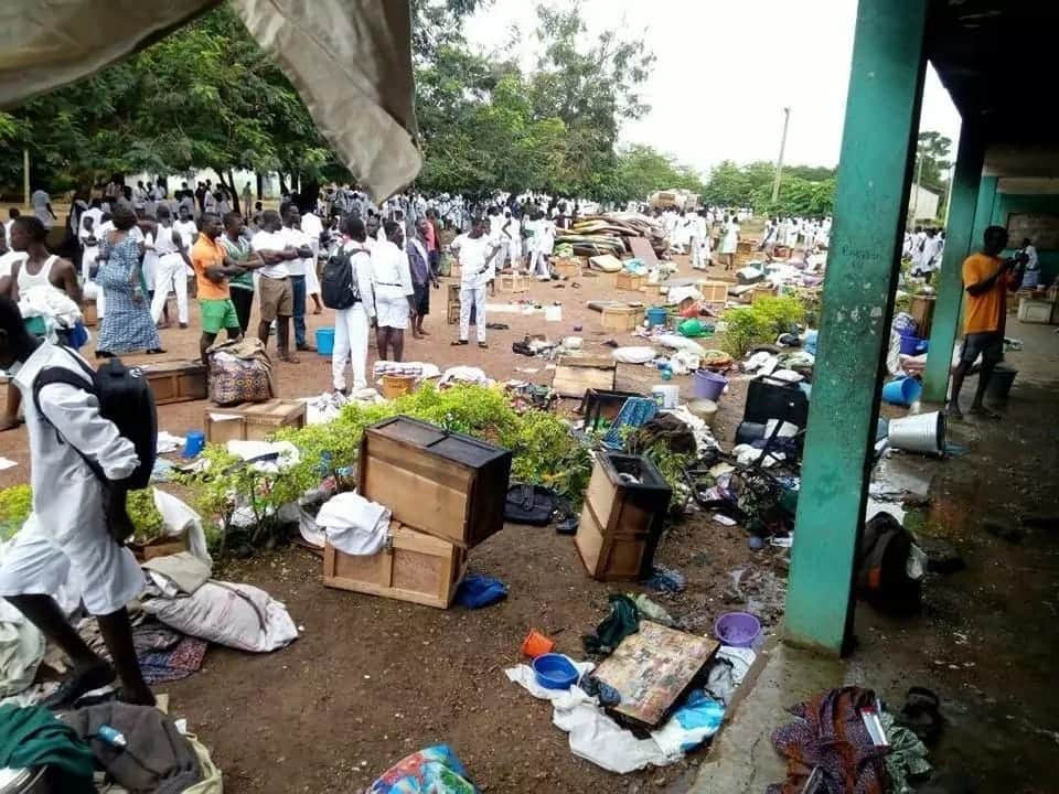 Asuom SHS Fire: Former student arrested for arson