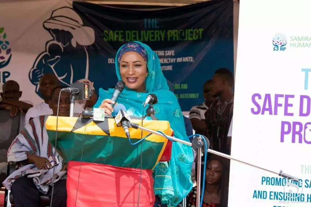 Samira launches 'Safe Delivery Project'