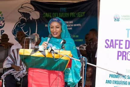 Samira launches 'Safe Delivery Project' to reduce maternal and neo-natal mortality