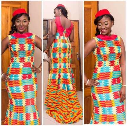 Ghanaian Kente Kaba styles