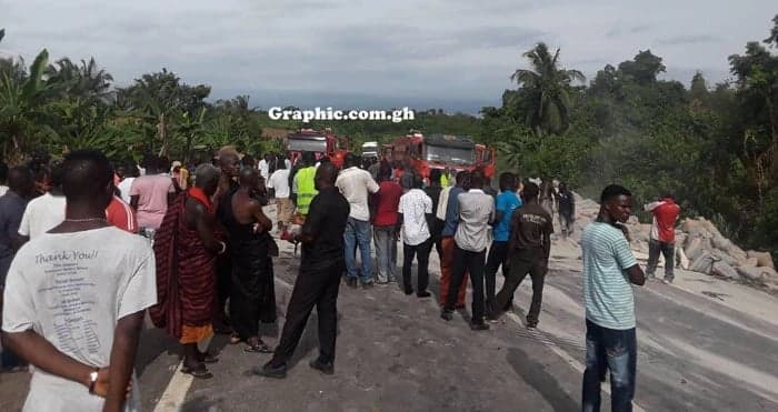 gory accident in Cape Coast