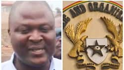 He is supposed to present his passport tomorrow - Sam George on EOCO Mahama visits