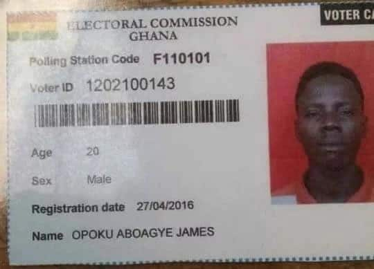 Ghana national id card application process & requirements