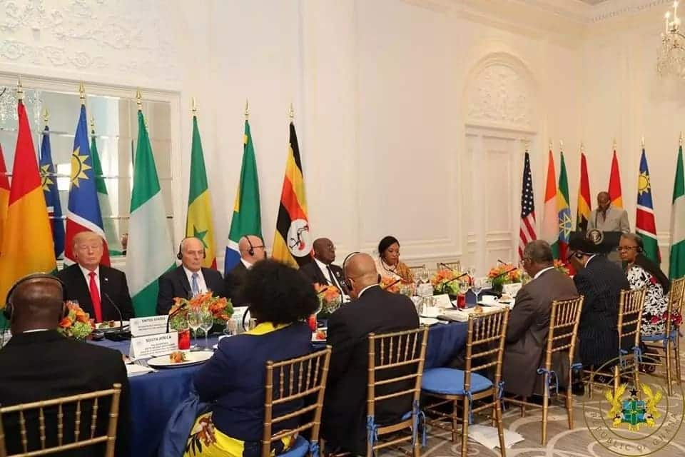 That firm handshake between Nana Addo and America's Donald Trump is breathtaking