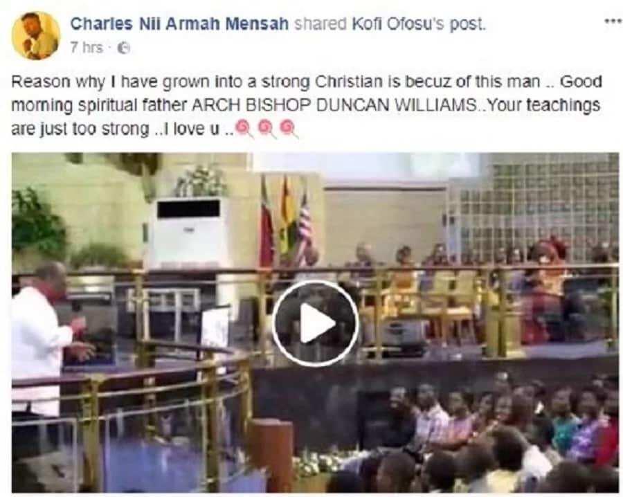 Shatta Wale's post on Facebook