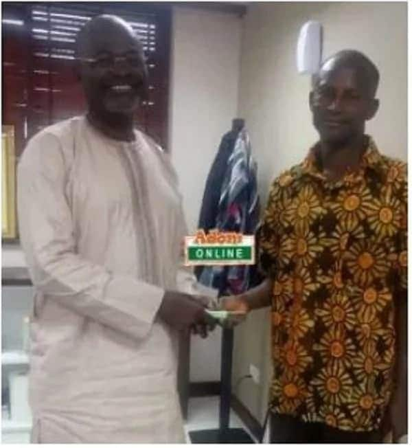 Ken Agyapong finally delivers GHC5,000 reward to GHANASS security man