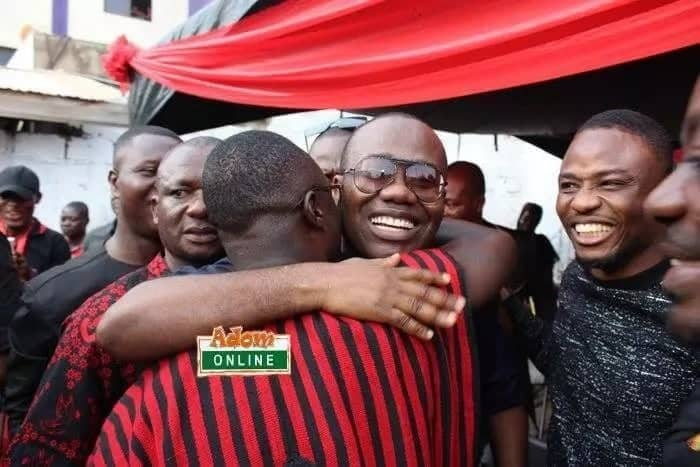 Photos that prove Kwesi Nyantakyi is a fun lover