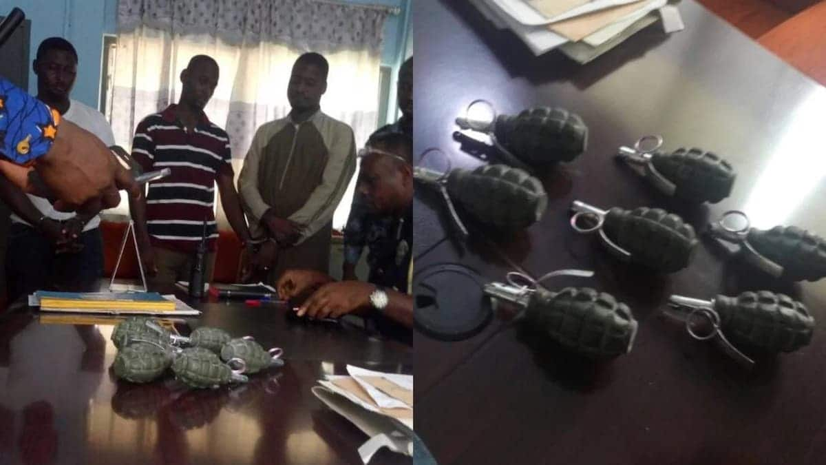 Police arrest men with bombs at Odorkor in Accra