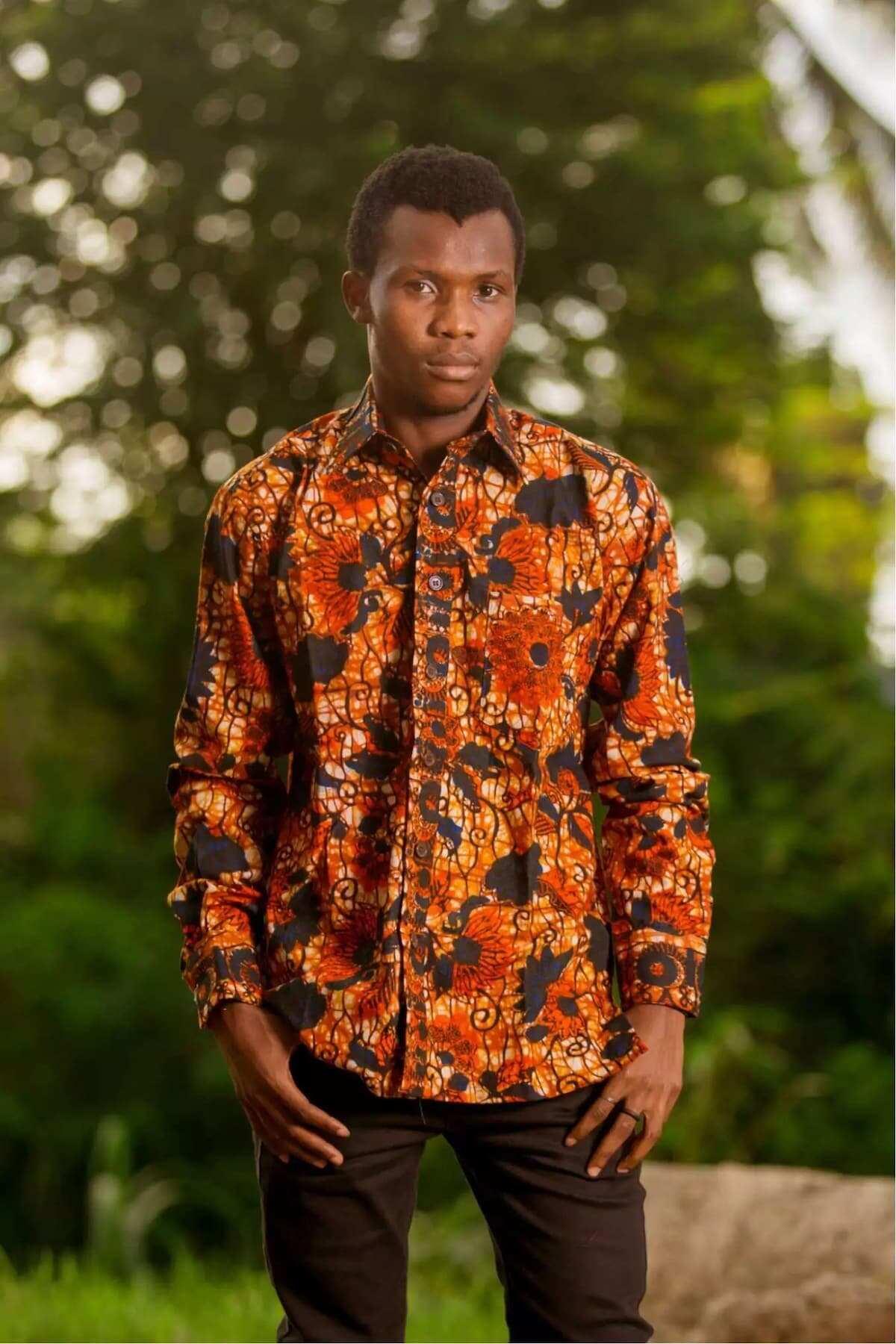 African fashion menswear
