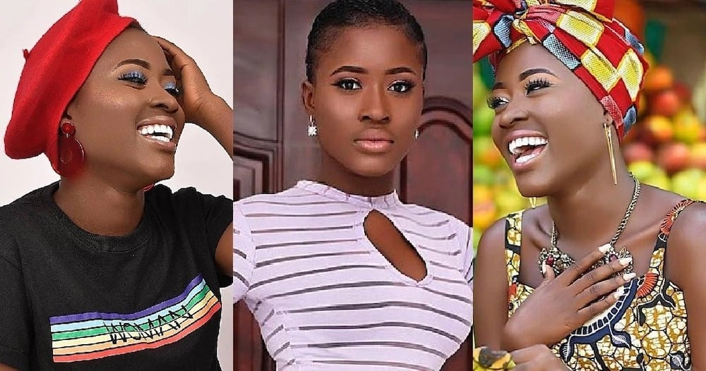 Fella Makafui: Female fans Fight over Actress' new Video Containing Number of Tattoos she has
