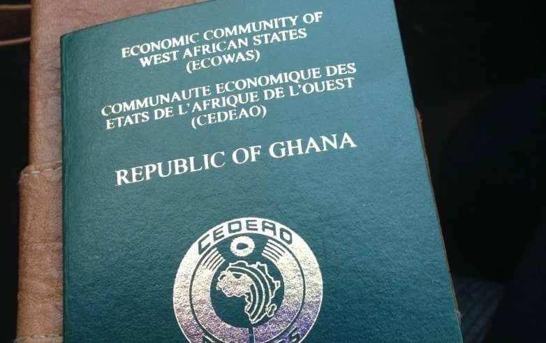 Ghana passport renewal process