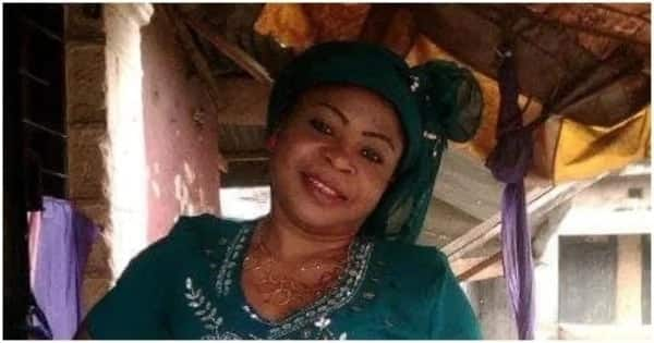 Nigerian woman claims her mother is pregnant for her husband