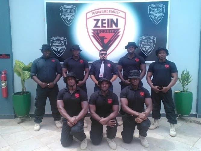 Zein, one of the security firms in Ghana