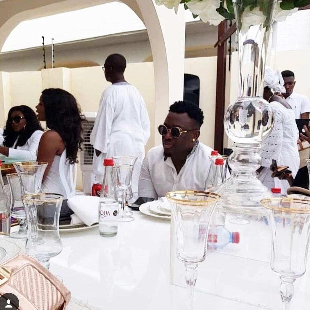 Photos of Ghanaian celebs at John Dumelo's wedding