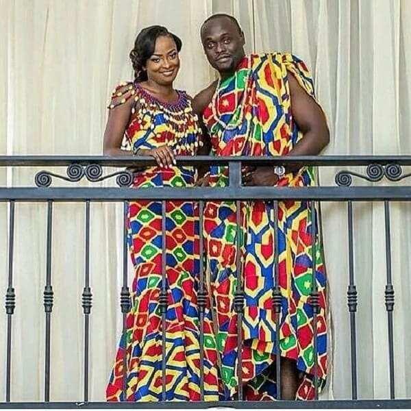 Latest African Wear Styles in Ghana- Couples wear