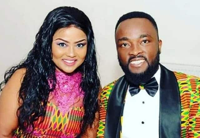 Nana Ama's husband: I'm not mad to be talking and smiling for no reason