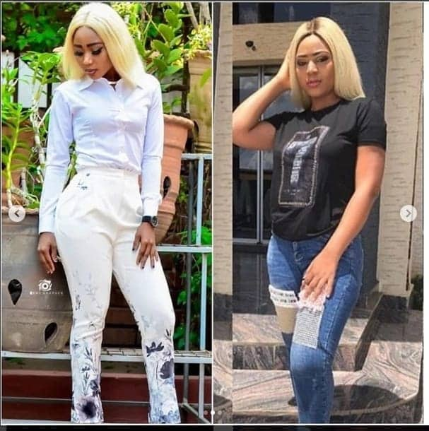Rosemond Brown wows social media with rare photos with her 'twin' sister