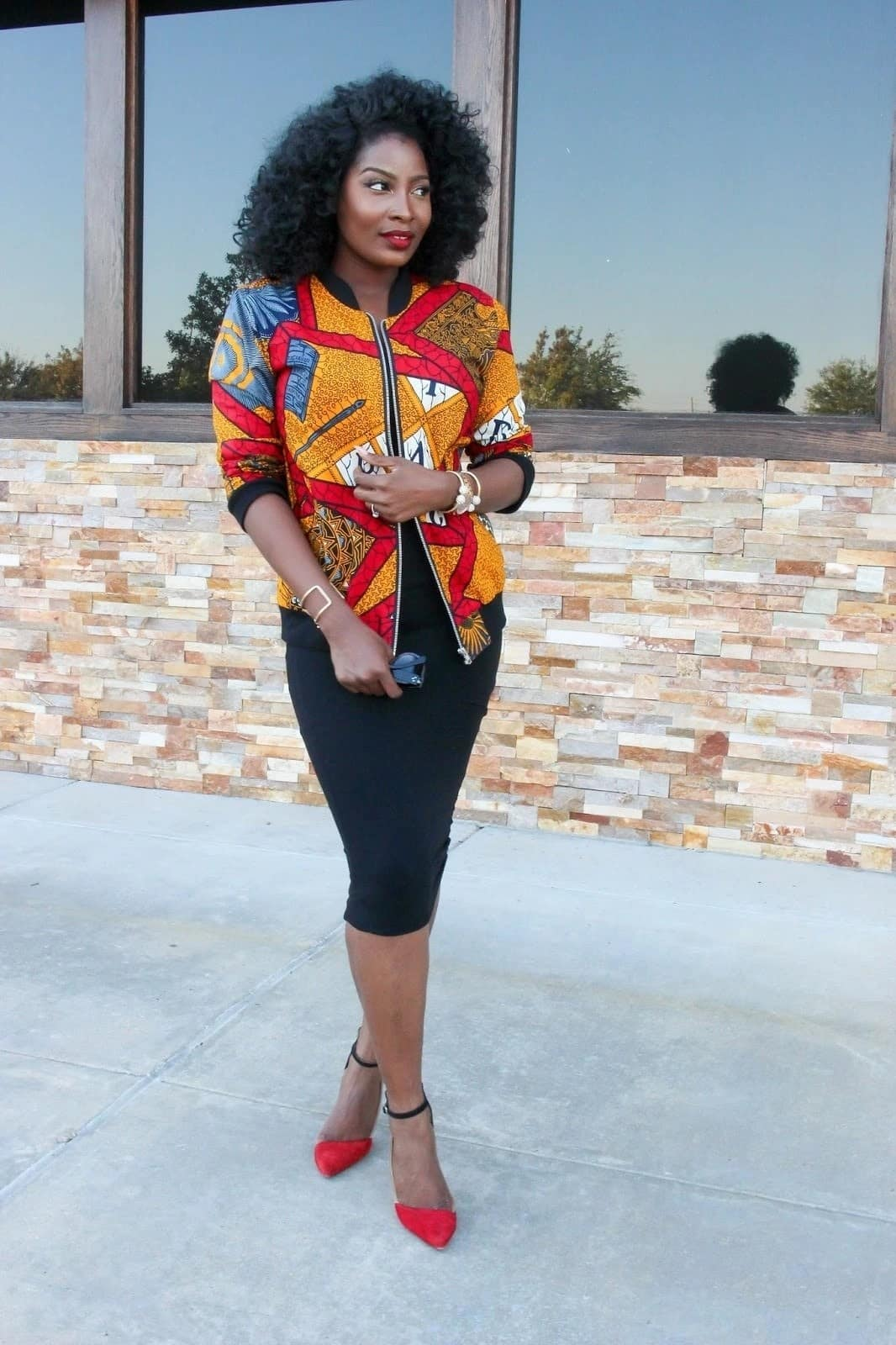 african print styles for office, african print office wear