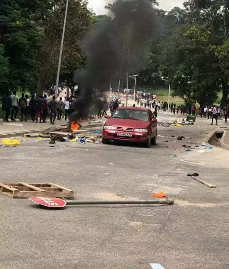 KNUST: Students brutalized, property vandalized in Conti-Kantanga clash